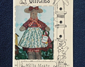 Millie Moose Doll Pattern and Instructions
