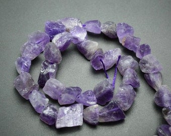 Amethyst Raw Nuggets  15-16""