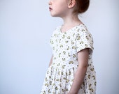 Macaroni baby and kid dress. 100% organic cotton (GOTS). 12-18m / 2T  / 3T  / 4T
