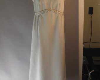 Silver Glitter Gown by Puritan Forever Young, Vintage 1960's