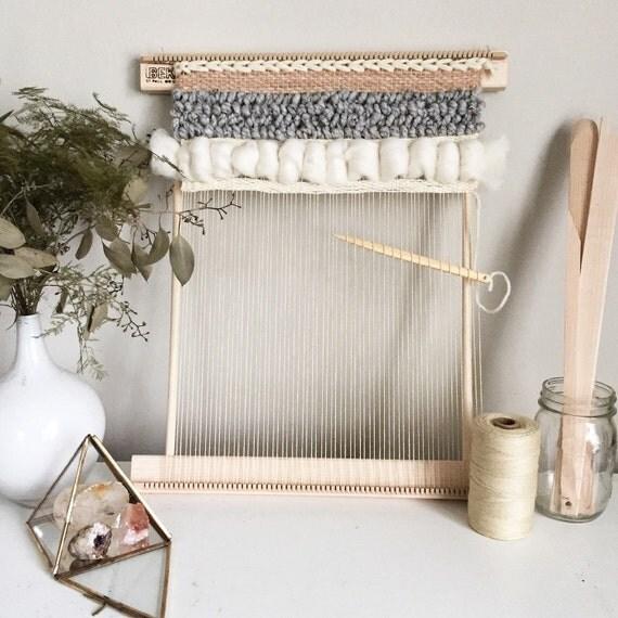 Wall Art Loom Kit : Weaving travel loom kits by wildcolumbinetextile