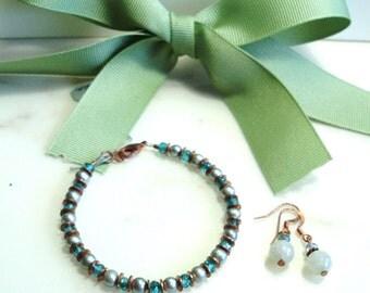 Summer Skies Bracelet and Earring Set (GS1)