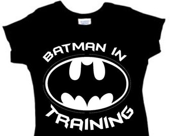Batman In Training // Boy Creeper Sleeper // 3 snap closure