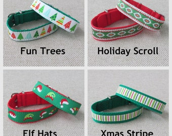 Christmas Shop, Embroidered Timex Weekender Replacement Strap, 2 Band Widths