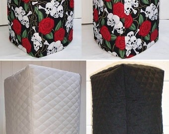 Quilted Skulls & Roses Blender Cover w/ 4 Pockets (4 Options Available)