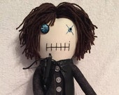 "Creepy n Cute Zombie Doll - ""Daryl Dixon"" - Inspired by TWD (P)"