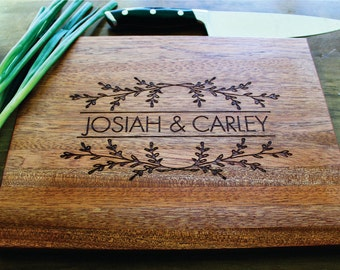 Personalized Cutting Board, Gifts For Her, Personalized Women, Sister, Coworker Gift, Gift To Mom, Anniversary, Closing Gift, Wedding Gift