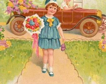 Vintage  postcard  1930's