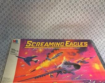Vintage Screaming Eagles Game 1987 Milton Bradley