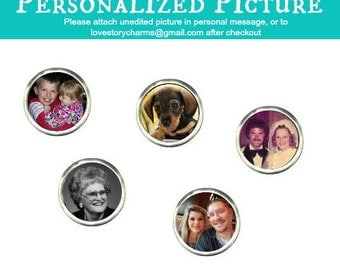 Picture Floating Charm For Glass Lockets ~ Fits Origami Owl Charms Locket, Or love Story Charms Lockets