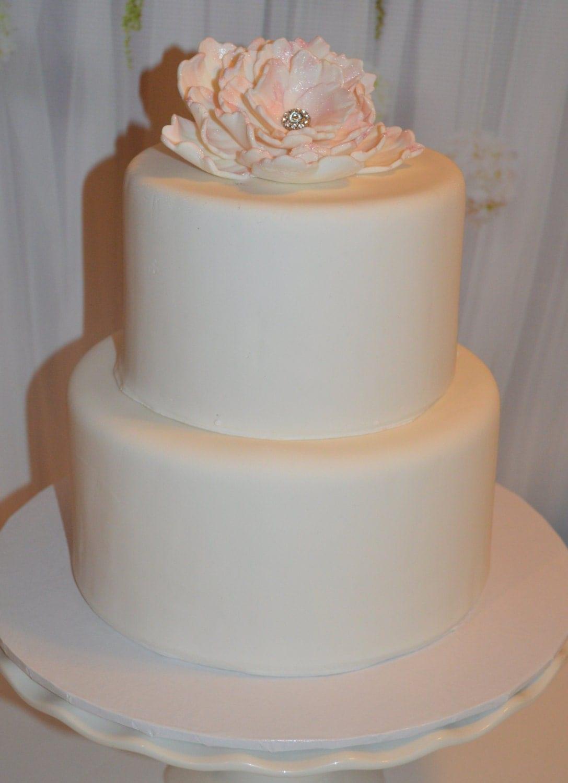 2 Tier Faux Wedding Cake Fake Wedding Cake Dummy Wedding