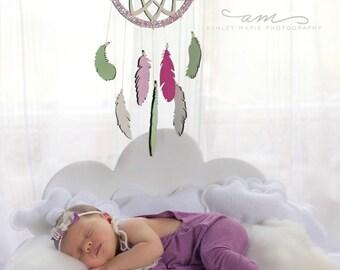 Dream on cloud bed photo prop set