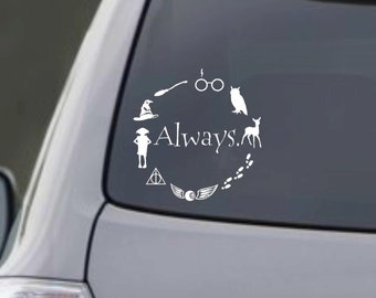"Harry Potter Inspired ""Always."" Decal"