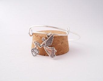 Angel of Love bangle bracelet