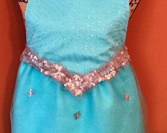 Elsa-Inspired Dress Up Apron