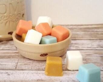 Wax Tart Sampler (5) - Scented Wax Cubes - Wax Melt Sample Pack - Soy Melts - Soy Tart Melts - Soy Candle Melt - Tart Sampler - Natural Wax