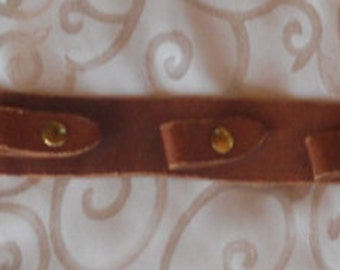 "Rare 60's Enid Collins' Handmade Leather Purse Display""...handmade by Frederic Collins   ON SALE"