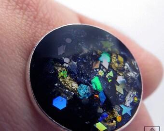 Black Galaxy Ring
