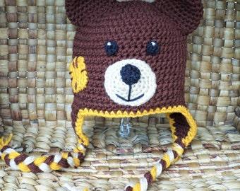 Baby Teddy Bear Hat
