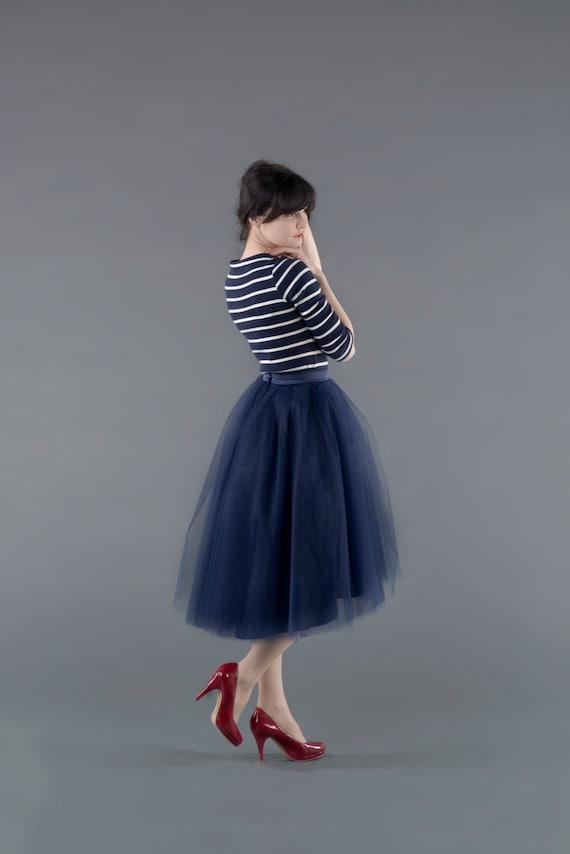 High Low Ballerina : high low tulle skirt / adult tutu / ladies tulle skirt / hi-lo tulle skirt / custom dyed skirt  /  different hemline