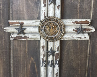 SALE! Us army wood cross