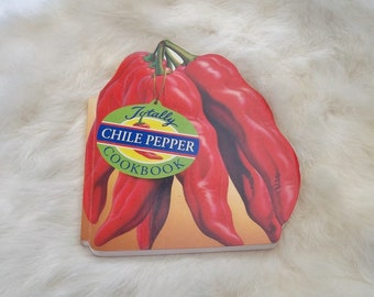 CHILE PEPPER COOKBOOK Vintage Chile Pepper Book Recipe Book Gift Book