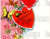 A Valentine Especially For Your Valentines Day Card #186 Digital Download