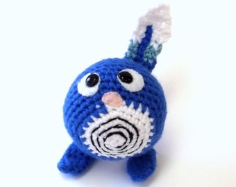 Amigurumi Character Figure - Crochet Gaming Plushie - Anime Theme Character - Geeky Gamer Gift