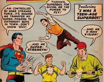 Adventure Comics #254 - November 1958 Issue - DC Comics - Grade G