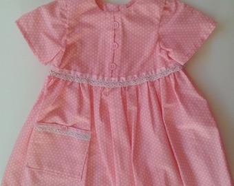 Infant Girls' Short-sleeved Dress