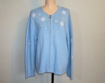 Snowflake Sweater Etsy