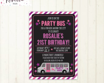 Tayo little bus birthday invitation tayo little bus party party bus invitation bus birthday bridal bus bridal shower invitation wheels on the bus birthday invitation stopboris Image collections
