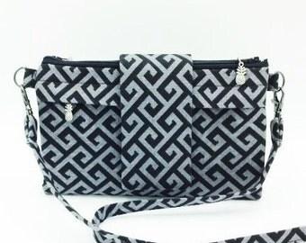 Wallet, Cross Body Wallet, Cross Body Bag, Small Purse, Travel Purse, Clutch Purse, Fanny Pack, iPhone 6 Plus Wallet - Made in Maui