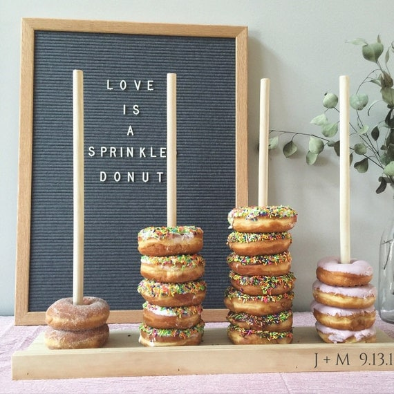 Donut Stand Wedding Favors Bar Cake Table