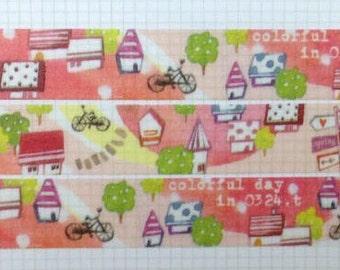 Little house washi tape