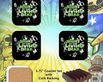 Night of the Living Dead / Coaster Set