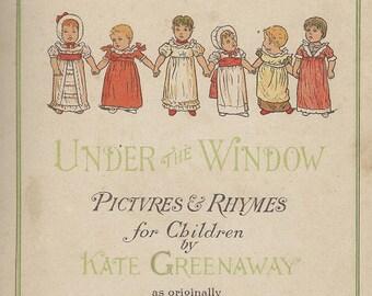 Kate Greenaway under the garden window poems ladies and children download