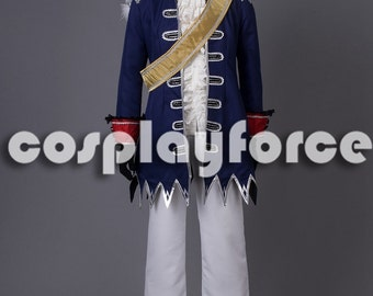 APH Axis Powers Hetalia Prussia Man Cosplay Costume mp003274