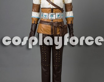 The Witcher 3: Wild Hunt Cirilla Cosplay Costume mp003141