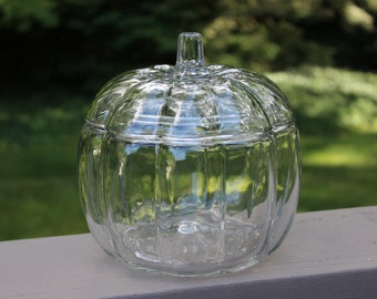 Anchor Hocking Pumpkin Jar with Lid