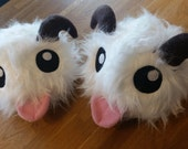 League of Legends cosplay prop, large handmade Poro plush