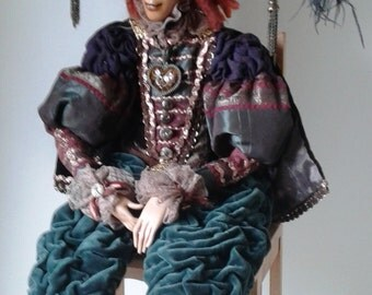 Sir Percy - OOAK - Handmade