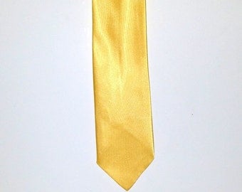 Vintage Yellow tie Bright necktie easter church work tie formal suit and tie mens gift mens accessories fashionable bright mens tie