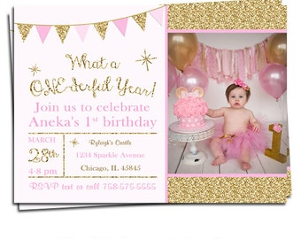 1st birthday invitations | Etsy