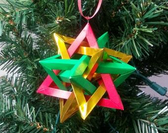 Origami Ornament - Tetra Ball