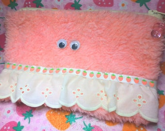 Baby Furry Monster Pouch (small)