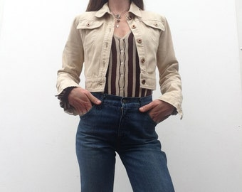 Vintage MIU MIU jacket short cotton jacket
