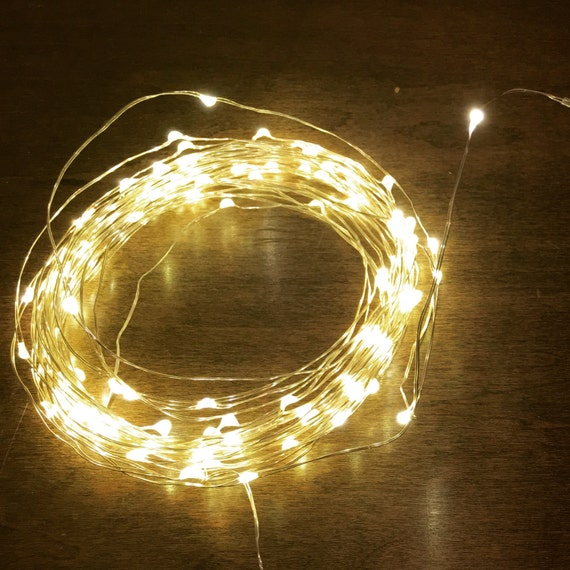 30ft Firefly Lights Wedding Lights Outdoor by MateriaQuality