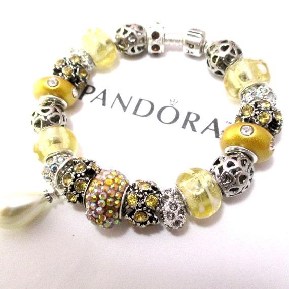 how many charms fit on a 7.5 pandora bracelet