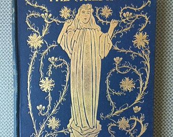 1897 The Children by Alice Meynell Decorative Binding Illustrated Art Nouveau